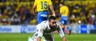 Real Madrid poupa a pensar na Champions e 'escorrega' nas Canárias