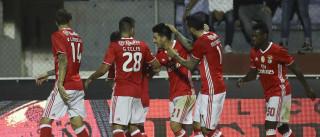 Vitória do Benfica sobre o Chaves foi recompensada com... pizza
