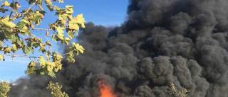 Fogo no complexo turístico Zmar começou numa camarata