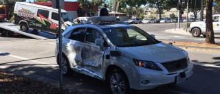 Carro da Google teve o seu maior acidente até agora
