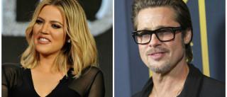 Khloé Kardashian revela ter uma 'paixão' por Brad Pitt