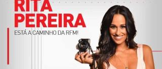 Rita Pereira a caminho da RFM