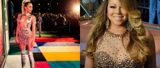 Miley Cyrus não é fã de Mariah Carey. E explica porquê