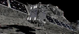 Rosetta conclui odisseia de 12 anos. Despenhou-se em cometa