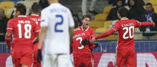 [0-2] Benfica descongela contas da Champions no frio da Ucrânia