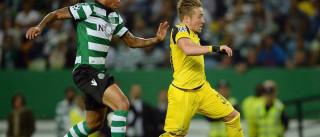 """Lateral do Dortmund """"fascinado"""" com Alvalade: """"Tive dores de ouvidos"""""""