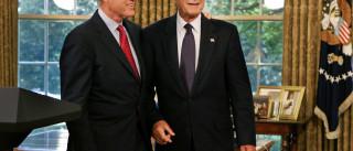 A carta de 1993 de George H. W. Bush para Clinton que hoje ficou viral