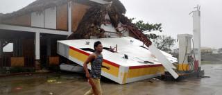Número de mortos nas Filipinas devido ao tufão Haima continua a subir