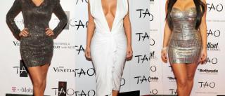 Melhores looks de Kim Kardashian nas suas festas de aniversário