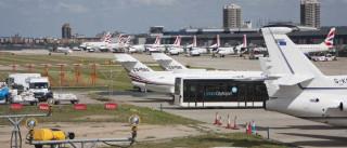 """""""Incidente químico"""" na origem de evacuação de aeroporto londrino"""
