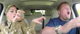 Lady Gaga vai ser a próxima a andar à boleia de James Corden