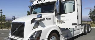 Camião de mercadorias autónomo da Uber completou a primeira entrega