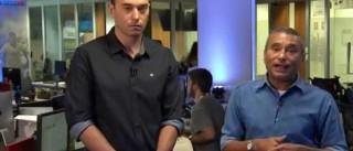 Jornalistas choram em direto ao anunciar morte de Carlos Alberto