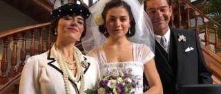 Mikaela Lupu e Marcantonio Del Carlo gravam série na RTP