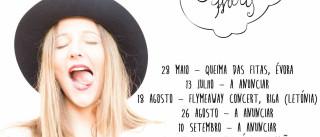 Joana Alegre apresenta amanhã álbum de estreia 'Joan & The White Harts'