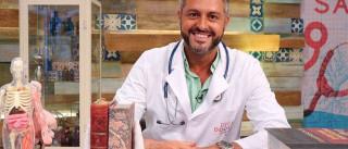 """""""Não sou vedeta, sou um médico que vai à TV fazer serviço público"""""""