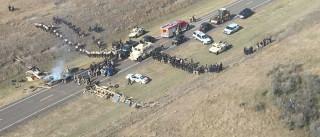 Detidas 117 pessoas nos EUA por protesto contra oleoduto