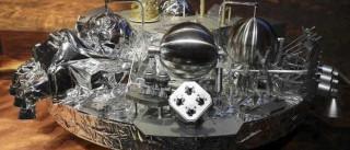 NASA revela imagens do impacto deixado pela sonda europeia