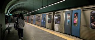 Metro com percursos alternados na linha azul a partir de segunda