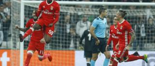 Manchester United foi à Luz ver Nélson Semedo