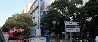 Derrocada de prédio no centro de Lisboa faz vítimas mortais
