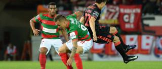 [2-1] Benfica perde na Madeira e vai a dérbi com o coração nas mãos