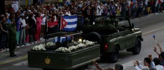 Restos mortais de Fidel Castro chegaram à província de Santiago de Cuba