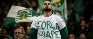 Alvalade engalanou-se para homenagear Chapecoense