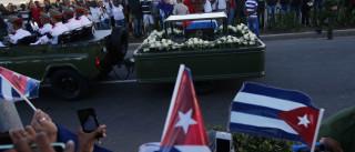 Restos mortais de Fidel Castro deixados em cemitério de Santiago de Cuba