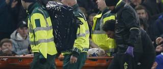 Ryan Mason em estado crítico após choque com Cahill