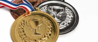Medalhas dos Jogos Olímpicos do Rio de Janeiro estão-se a... desfazer