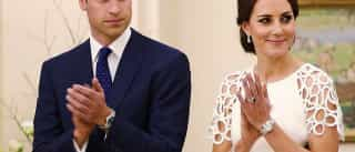 Porque é que William e Kate nunca dão as mãos em público?