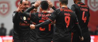 'Mitrogolo' desatou o nó bracarense e voltou a colocar o Benfica no topo