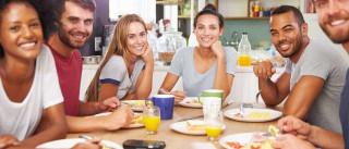 Dez mandamentos para conseguir viver numa casa partilhada