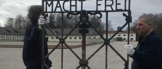 Portão de ferro roubado foi devolvido a campo de concentração de Dachau
