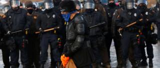 Polícia deu início a detenções de manifestantes contra oleoduto do Dakota