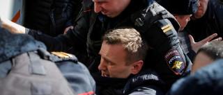 Líder da oposição russa Alexei Navalny detido em Moscovo