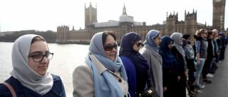 Londres: Terrorismo não tem cor nem religião. Estas muçulmanas provam-no