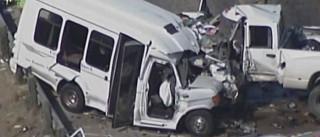Vários mortos em acidente com autocarro de igreja, no Texas