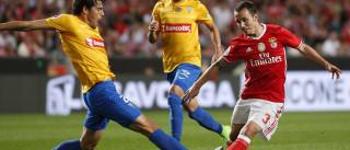 [0-0] Mano atira muito ao lado da baliza do Benfica