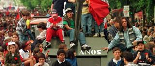 A Revolução dos Cravos também foi celebrada no Espaço