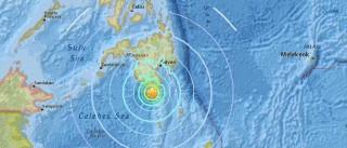 Sismo de 6.8 abala as Filipinas. Teme-se um tsunami