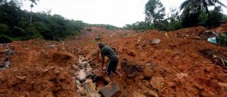 Inundações no Sri Lanka fazem pelo menos 91 mortos e 110 desaparecidos