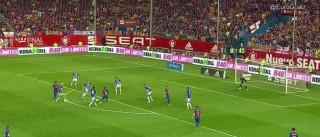 Mais um golo 'normal' de Messi, mais uma maravilha para o mundo