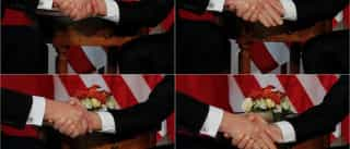 """O famoso aperto de mão entre Trump e Macron """"não foi inocente"""""""
