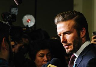 Mensagem de David Beckham sobre visita à China gera polémica