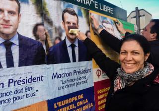 """Portugueses em campanha por Macron alertam contra """"o risco"""" Le Pen"""