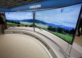Samsung: Há mais 22 televisões de ecrã curvo a caminho