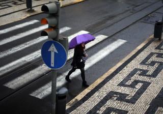 Onze distritos do continente e Açores com avisos de mau tempo