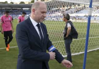 Antero Henrique apresentado no PSG depois da final da Taça de França